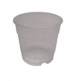 Pot transparent orchidée 17cm 2,7L