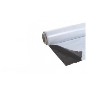 Bâche Réflechissante noir/blanc 0.07mm (2m x 25mtr)