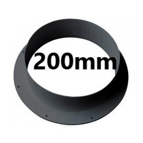 Connecteur Mural PVC 200mm