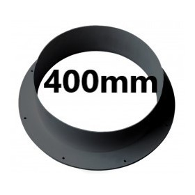 Wall Connector 400mm PVC