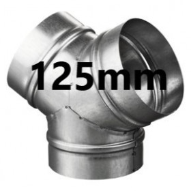 Connector Y 125mm