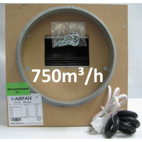 ISOBOX MDF 750m³/h