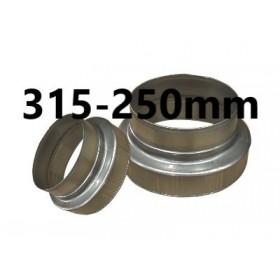 Réducteur 315mm-250mm