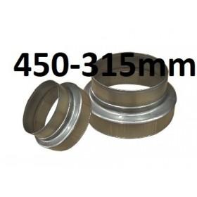 Réducteur 450mm-315mm
