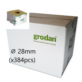 Cube Laine de Roche Grodan StartBlock ⌀ 28mm (x384pcs)