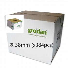 Cube Laine de Roche Grodan StartBlock ⌀ 38mm (x384pcs)