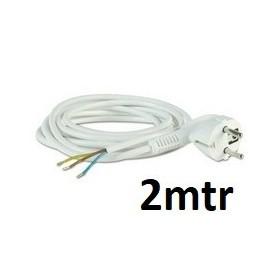 Prise + 2 Mtr Cable - 3G 1.5 mm²
