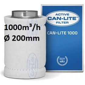 Filtre à Charbon Can-Lite 1000 (1000-1100m³/h) (200 Ø)