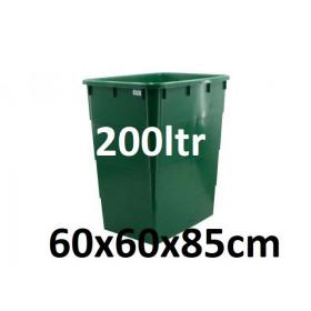 Réservoir 200ltr avec Couvercle (60x60x85cm)