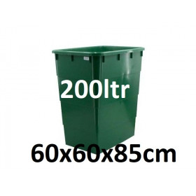 Tank with Top 200ltr (60x60x85cm)