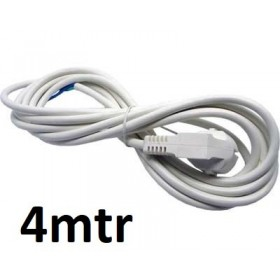 Prise + Cable 4mtr