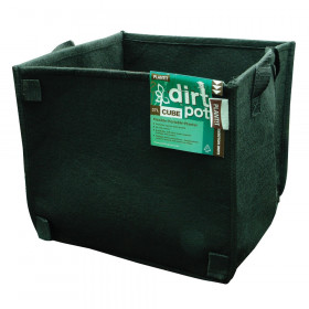 PLANT!T Dirt Pot Cube 10 Gallon With Handle
