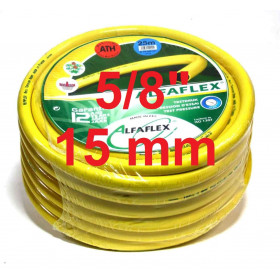 "Tuyau d'arrosage anti-torsion Alfaflex 15 mm  5/8""..."