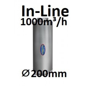 CAN In-Line Filter 1000 (1000-1100m³/h) ⌀200mm