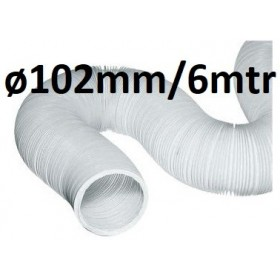Air Hose ø 102mm (6mtr)