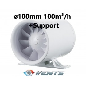 VENTS Quietline 100 K 100m³/h + Support