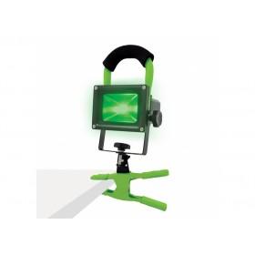 Lampe de travail LED verte avec pince LUMii
