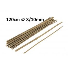 Tuteur en Bambou 120cm Ø 8/10mm