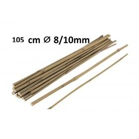 Tuteur en Bambou 105cm Ø 8/10mm