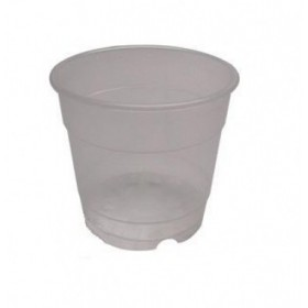 Pot transparent orchidée 15cm 1,55L