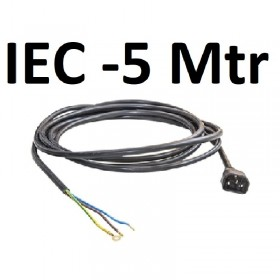 IEC Male + Cable 5mtr