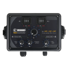Climate TwinController 12+12Amp