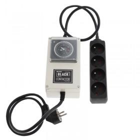 Minuteur lumii black contactor 4 x 400/600W