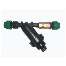 Kit sortie pompe avec filtre, valve, et connecteurs...