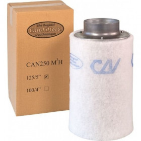 Can Filters 250m³/h (125 Ø)